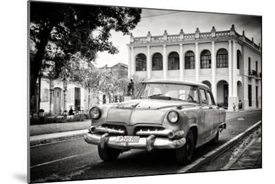 Cuba Fuerte Collection B&W - Cuban Classic Car-Philippe Hugonnard-Mounted Photographic Print
