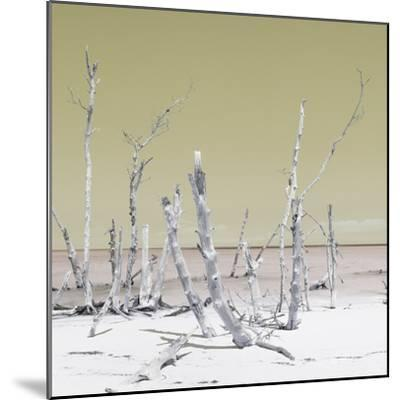 Cuba Fuerte Collection SQ - Wild Ocean - Pastel Yellow-Philippe Hugonnard-Mounted Photographic Print