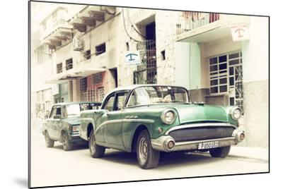 Cuba Fuerte Collection - Cuban Taxi to Havana-Philippe Hugonnard-Mounted Photographic Print