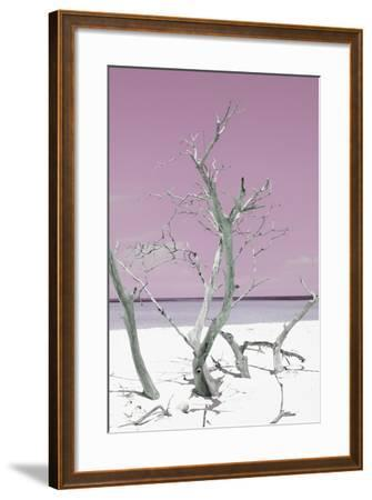 Cuba Fuerte Collection - Pink Stillness II-Philippe Hugonnard-Framed Photographic Print