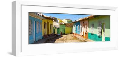 Cuba Fuerte Collection Panoramic - Colorful Architecture Trinidad IV-Philippe Hugonnard-Framed Photographic Print