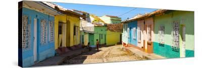 Cuba Fuerte Collection Panoramic - Colorful Architecture Trinidad IV-Philippe Hugonnard-Stretched Canvas Print