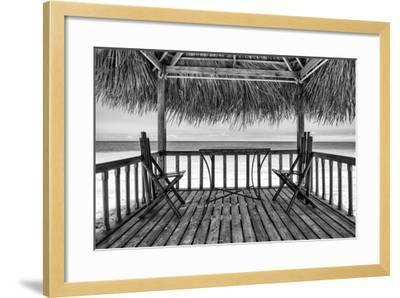 Cuba Fuerte Collection B&W - Ocean View II-Philippe Hugonnard-Framed Photographic Print