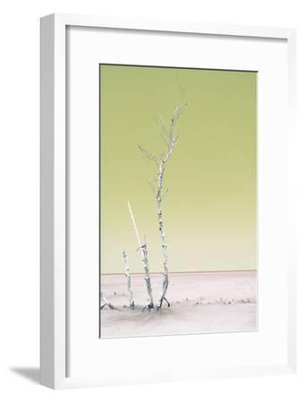 Cuba Fuerte Collection - Ocean Nature - Pastel Yellow-Philippe Hugonnard-Framed Photographic Print