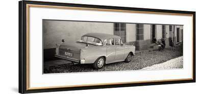 Cuba Fuerte Collection Panoramic BW - Trinidad Colorful City-Philippe Hugonnard-Framed Photographic Print