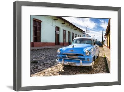 Cuba Fuerte Collection - Plymouth Classic Car-Philippe Hugonnard-Framed Photographic Print