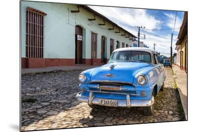 Cuba Fuerte Collection - Plymouth Classic Car-Philippe Hugonnard-Mounted Photographic Print