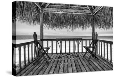 Cuba Fuerte Collection B&W - Ocean View II-Philippe Hugonnard-Stretched Canvas Print