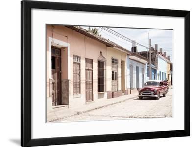 Cuba Fuerte Collection - Street Scene in Trinidad IV-Philippe Hugonnard-Framed Photographic Print