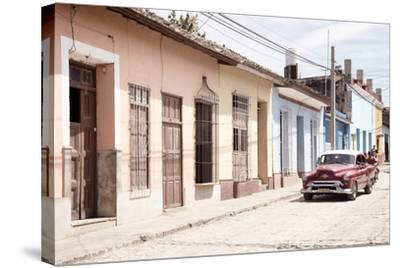 Cuba Fuerte Collection - Street Scene in Trinidad IV-Philippe Hugonnard-Stretched Canvas Print