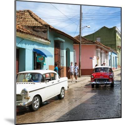 Cuba Fuerte Collection SQ - Cuban Street Scene-Philippe Hugonnard-Mounted Photographic Print