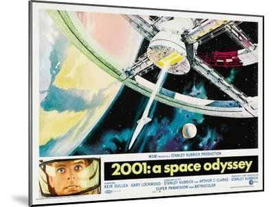 2001: A Space Odyssey, 1968--Mounted Poster
