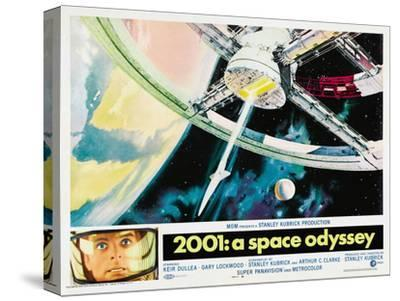 2001: A Space Odyssey, 1968--Stretched Canvas Print