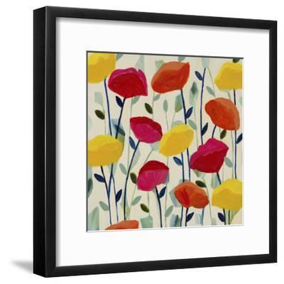 Cheerful Poppies-Carrie Schmitt-Framed Giclee Print