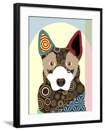 Australian Cattle Dog-Adefioye Lanre-Framed Giclee Print