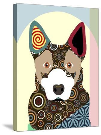 Australian Cattle Dog-Adefioye Lanre-Stretched Canvas Print