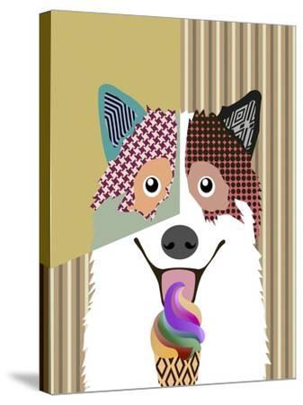 Bangkaew Dog-Adefioye Lanre-Stretched Canvas Print
