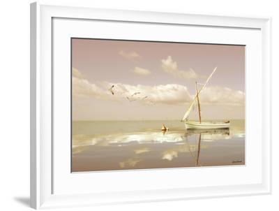 Soft Sunrise on the Beach 12-Carlos Casamayor-Framed Giclee Print