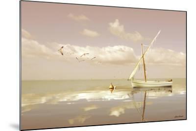 Soft Sunrise on the Beach 12-Carlos Casamayor-Mounted Giclee Print