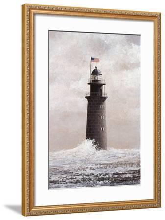 Minot's Light-David Knowlton-Framed Giclee Print