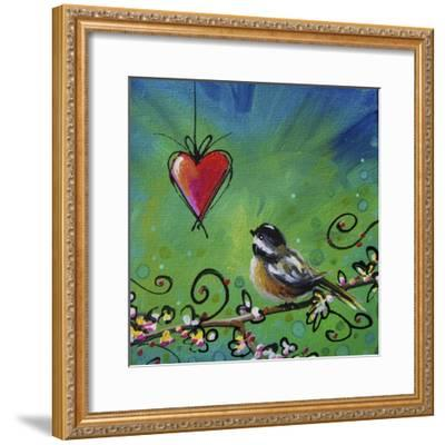 Song Bird II-Cindy Thornton-Framed Giclee Print