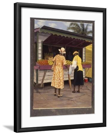 Miss Crystal And Pearl-Bill Makinson-Framed Giclee Print