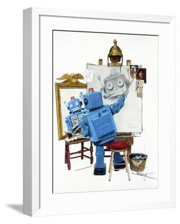 Selfie-Eric Joyner-Framed Premium Giclee Print