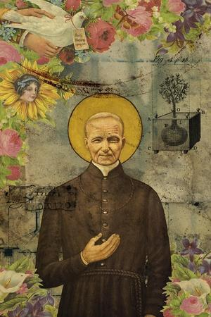 The Holy Father-Elo Marc-Framed Giclee Print