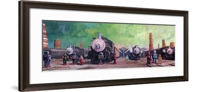 Trainyard-Eric Joyner-Framed Giclee Print