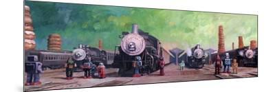 Trainyard-Eric Joyner-Mounted Giclee Print