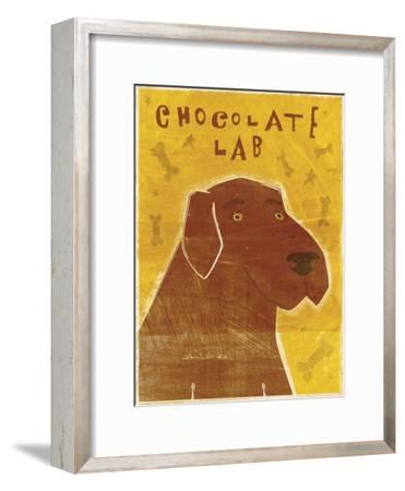 Lab (chocolate)-John W Golden-Framed Giclee Print