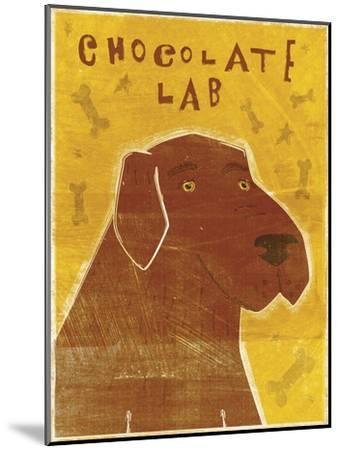 Lab (chocolate)-John W Golden-Mounted Giclee Print