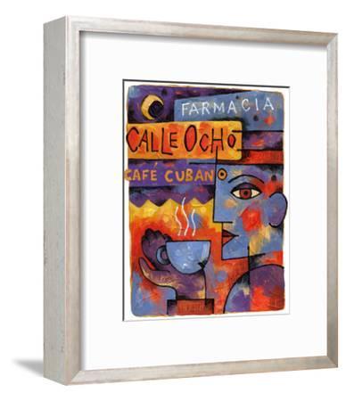 Cafe Cubano-Jim Dryden-Framed Giclee Print