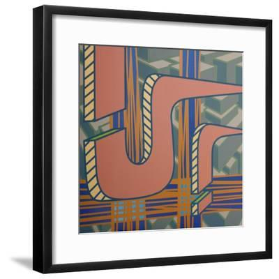 2013 Lines Project 53-Eric Carbrey-Framed Giclee Print