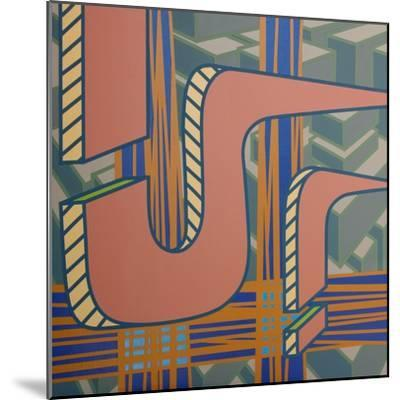 2013 Lines Project 53-Eric Carbrey-Mounted Giclee Print