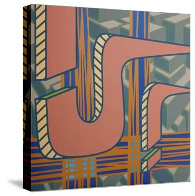 2013 Lines Project 53-Eric Carbrey-Stretched Canvas Print