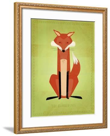 The Crooked Fox-John W Golden-Framed Giclee Print