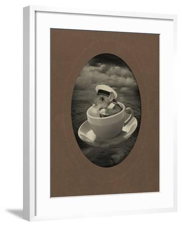 Mice Series #4-J Hovenstine Studios-Framed Giclee Print