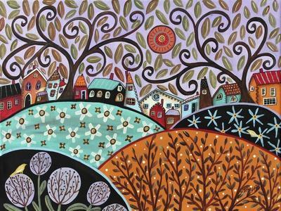 Small Town III-Karla Gerard-Framed Giclee Print