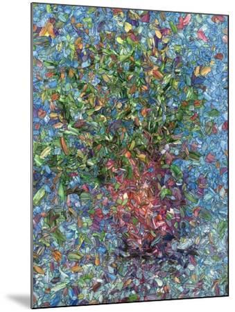 Falling Flowers-James W Johnson-Mounted Giclee Print