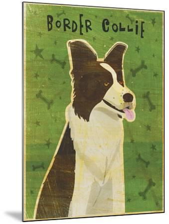 Border Collie-John W Golden-Mounted Giclee Print