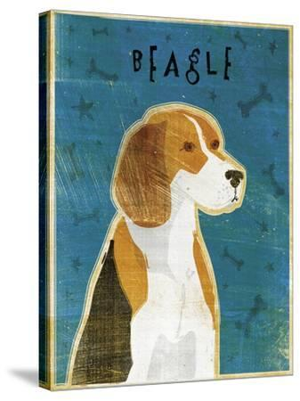 Beagle-John W Golden-Stretched Canvas Print