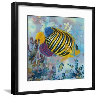 Regal Angel Fish-Kestrel Michaud-Framed Giclee Print