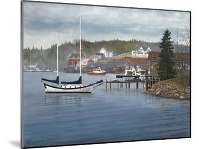 Tranquil Harbor-David Knowlton-Mounted Giclee Print