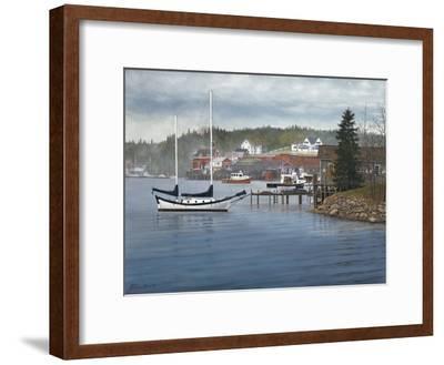 Tranquil Harbor-David Knowlton-Framed Giclee Print