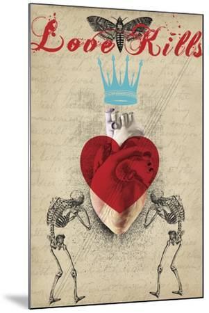 Love Kills-Elo Marc-Mounted Giclee Print