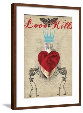 Love Kills-Elo Marc-Framed Giclee Print