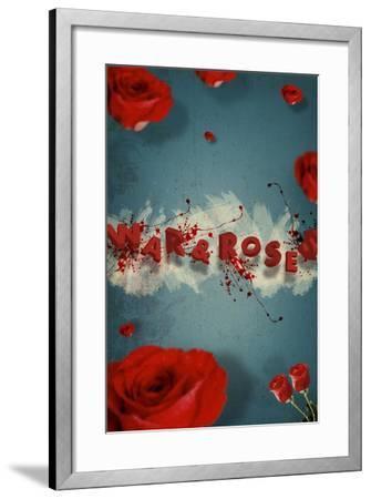 War And Roses-Elo Marc-Framed Giclee Print