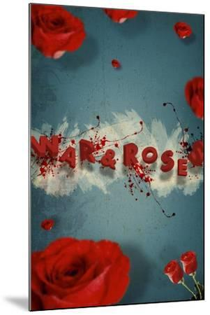 War And Roses-Elo Marc-Mounted Giclee Print