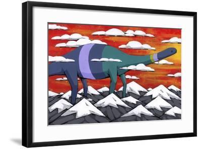 His Legend Only Grew-Ric Stultz-Framed Giclee Print